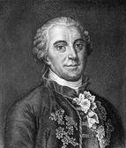ジョルジュ ・ ルイ ルクレール、comte de ブッフォン — ストック写真