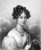 Marie Louise, Duchess of Parma — Stock Photo