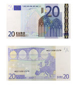 20 Euro Banknote — Stock Photo