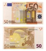 50 Euro Banknote — Stock Photo