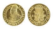 Elizabeth I Gold Sovereign — Stock Photo
