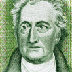 Постер, плакат: Johann Wolfgang von Goethe