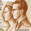 Stock Photo: King Baudouin I and Queen Fabiola