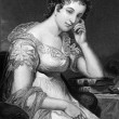 Maria Edgeworth — Stock Photo