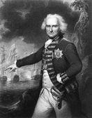 Alexander Hood, 1st Viscount Bridport — Stock Photo