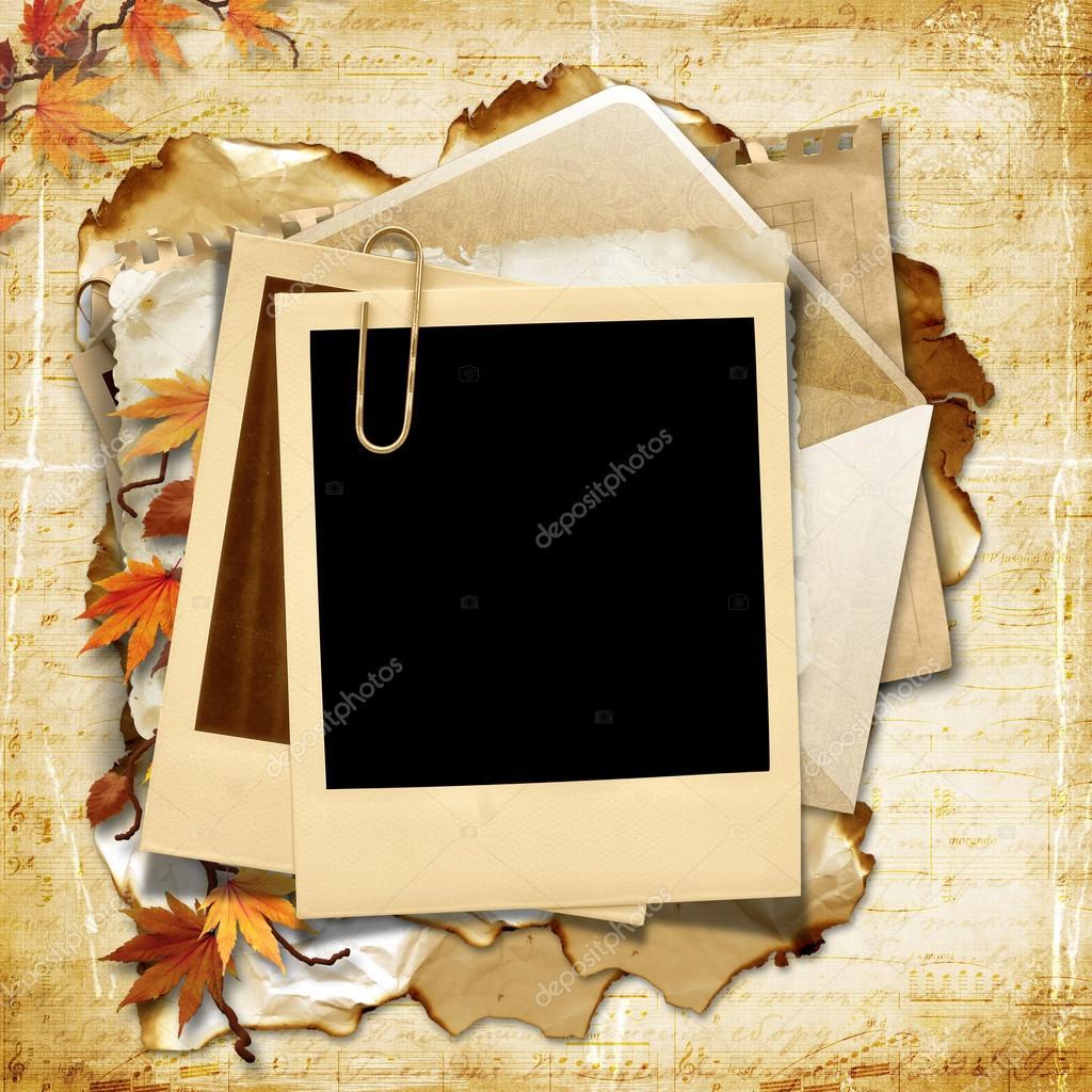 Фото на белой бумаге и в рамку