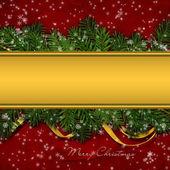 Vánoční pozdrav pozadí — Stock fotografie