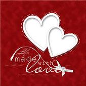 Sevgililer günü kartı. — Stok fotoğraf