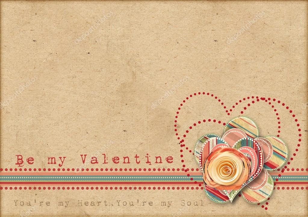 vintage valentine background valentines - photo #7