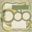 365 Project. scrapbooking templates.family album — Stock Photo #21624869