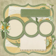 Royalty-Free Stock Photo: 365 Project. scrapbooking templates.family album