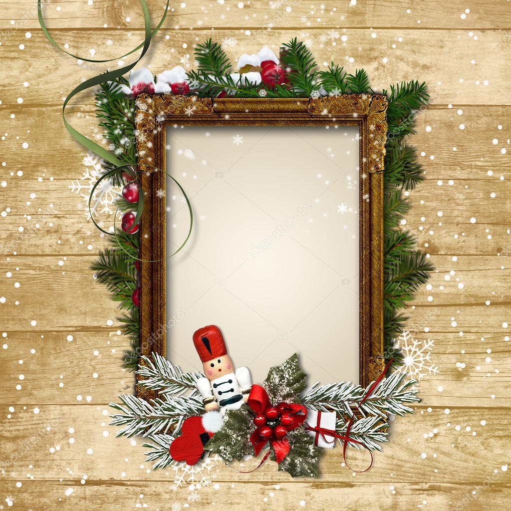 Рамки новогодние для фотографий своими руками