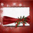 Christmas greeting card — Stock Photo #7962694