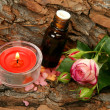 Oil for an aromatherapy and massage — Stock Photo