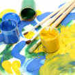 Color paints — Stock Photo #13185285