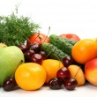 Stock Photo: Fresh fruit and vegetables