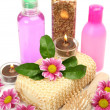 Spa, an aromatherapy, massage — Stock Photo