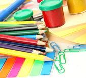 Barevné laky a tužky — Stock fotografie
