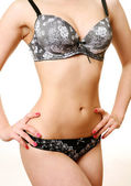 Beautiful female body — Stock Photo