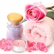 Stock Photo: Aromatherapy, spa, massage