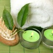 Stock Photo: Spa, an aromatherapy, massage