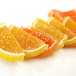 Stock Photo: Orange fruit candy