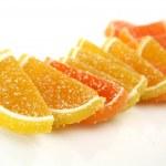 Orange fruit candy — Stock Photo #14277019
