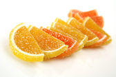 Orange fruit candy — Stockfoto