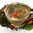 Fragrant tea - Stock Photo