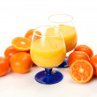 Orange juice — Stock fotografie #14364263