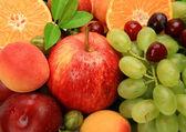 Ripe fruit and berries — Stock Photo