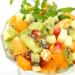 Salad from ripe fruit — Stock Photo #17346623