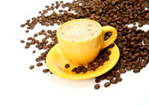 Coffee in a cup — Stock Photo