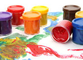 Color paints for drawing — Stock Photo