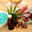 Aromatherapy, spa, massage - Stockfoto