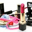 Female decorative cosmetics — Stock Photo
