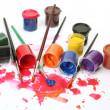 Brushes and paints — Stock Photo #17849529