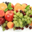 Ripe fruit for a healthy feed — Stockfoto