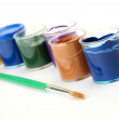 Color paints — Stock Photo #18959901