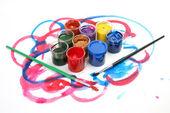 Kleur verf — Stockfoto