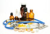 Předměty pro léčbu onemocnění — Stock fotografie