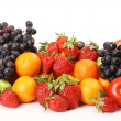 Ripe fruit and berries — Stock Photo #21270091