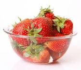 Ripe a strawberry — Stock Photo