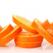 Ripe oranges for a healthy feed — Stock Photo