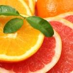 Ripe oranges and tangerines — Stock Photo #23124112