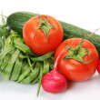 Fresh vegetables for dietary feed — Stock Photo #24237365