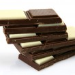 Chocolate bars — Stock Photo #24238349
