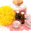 Aromatherapy, spa, massage - Stock Photo