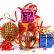 New Year's an ornament - Stock Photo