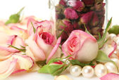 Roses for an aromatherapy — Stock Photo